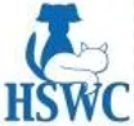 Humane Society Of Waupaca County (Waupaca, Wisconsin) logo with blue dog and white cat