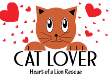 Heart of a Lion Rescue (Charlotte, North Carolina) cat logo