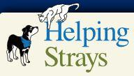 Helping Strays of Monroe County (Columbia, Illinois) logo with a dog and cat
