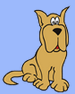Houndhaven Inc (Minneola, Florida) logo is a picture of a cartoon hound dog