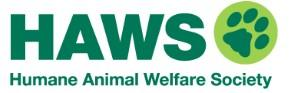 Humane Animal Welfare Society of Waukesha County (Waukesha, Wisconsin) logo pawprint in circle