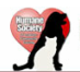Humane Society of Lawton-Comanche County (Lawton, Oklahoma) logo is their name with a red heart with a dog and cat profile