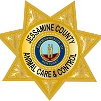 Jessamine County Animal Care & Control (Nicholasville, Kentucky) logo looks like a sheriff's badge with the org name on it