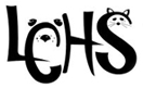 "Leavenworth County Humane Society (Basehor, Kansas) logo is ""LCHS"" with animal faces in the ""C"" and the ""S"""