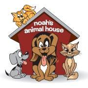 Noah's Animal House Foundation (Reno, Nevada) logo dogs and cats with dog house
