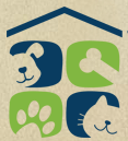 Northwest Organization For Animal Help (N.O.A.H.) (Stanwood, Washington) logo of four squares, house, dog, cat, paw, bone