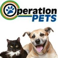 Operation PETS the Spay/Neuter Clinic of Western New York (Orchard Park, New York) logo is the org name with a pawprint in the O