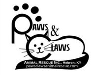 Paws & Claws Animal Rescue Inc (Hebron, Kentucky) of cat, paw print, whiskers, pawsclawsanimalrescue.com