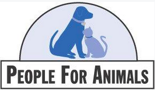 People For Animals (Franklin, Tennessee) of blue dog and cat, semicircle, people for animals