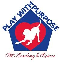 Play with Purpose Pet Academy & Rescue (Pineville, North Carolina) logo