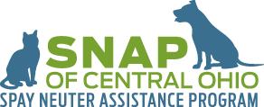 Spay Neuter Assistance Program (SNAP) of Central Ohio (Columbus, Ohio) | logo of blue dog, cat, SNAP of Central Ohio