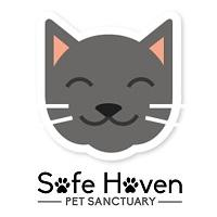 Safe Haven Pet Sanctuary (Green Bay, Wisconsin) | logo of Safe Haven Pet Sanctuary with green paw prints