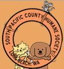 South Pacific County Humane Society (Long Beach, Washington) | logo of South Pacific County Humane Society, community-funded