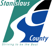 Stanislaus Animal Services Agency (Modesto, California) | logo of green, white, blue, striving to be the best, Stanislaus County