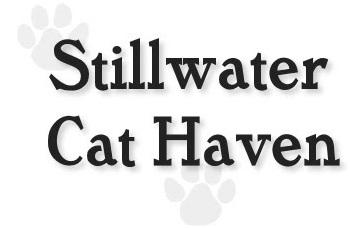 Stillwater Cat Haven (Anderson, California) | logo of two paw prints, text Stillwater Cat Haven