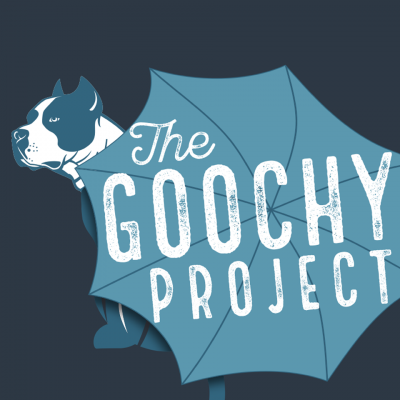 The Goochy Project (Seattle, Washington) logo dog with umbrella over it