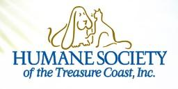 The Humane Society of the Treasure Coast (Palm City, Florida) | logo of dog, cat, The Humane Society of the Treasure Coast