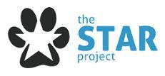 The STAR Project (Brodheadsville, Pennsylvania) | logo of black paw print, white star, blue text The Star Project