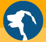 Twin County Humane Society (Hillsville, Virginia) logo with dog and cat outline in circle