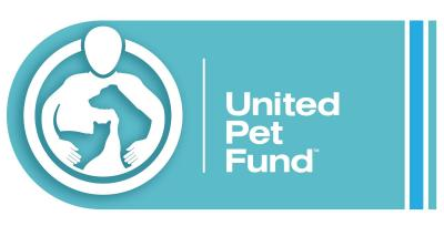 United Pet Fund (Cincinnati, Ohio) logo with person dog and cat in circle