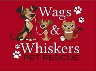Willows Wags and Whiskers Inc. (San Juan Capistrano, California) logo is two cartoon dogs & a cat with the org name & pawprints