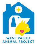 West Valley City Animal Services (NKUT) (West Valley City, Utah) | logo of blue house, white dog, yellow cat, red heart