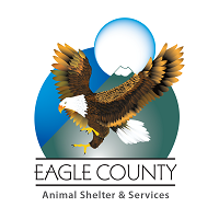 Eagle County Animal Shelter and Services (Eagle, Colorado) logo of eagle, mountain and moon