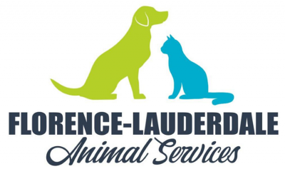 Florence Lauderdale Animal Services (Florence, Alabama) logo with dog and cat