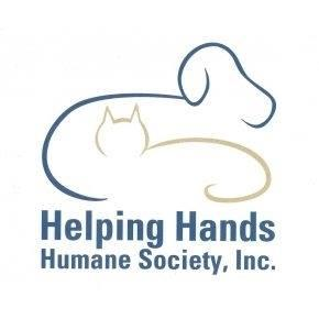 Helping Hands Humane Society (Topeka, Kansas) logo with dog and cat