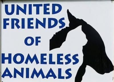 United Friends of Homeless Animals (Pulaski, New York) logo with dog and cat