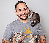 Marc Peralta, Senior director of national no-kill advancement, Best Friends Animal Society