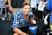 NY Rangers score for homeless pets