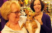 Friends of Homeless Animals Heidi with adopters