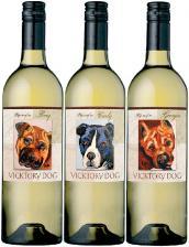 Vicktory dog white wine
