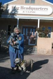 Ulla Pedersen, founder of Kindred Spirits Animal Sanctuary, at Best Friends Dog Headquarters