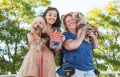 PupScouts won Best Team Spirit at Strut Your Mutt in NYC