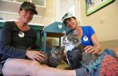 Lifelong friends Monica Daugherty and Kitty Chelton take a long-awaited volunteer vacation to Best Friends
