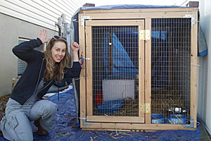 Ashley and relocation cage