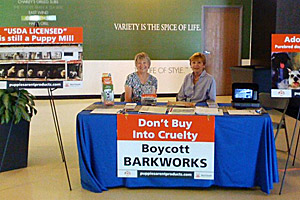 Volunteers boycotting Barkworks