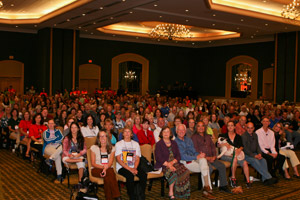 Audience at the No More Homeless Pets Conference in Jacksonville, Florida