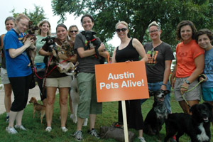 Austin Pets Alive at Best Friends' Strut Your Mutt