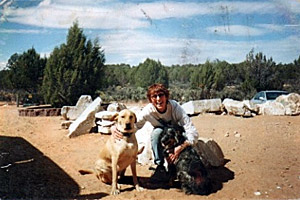 Brandy Carson's first visit to Best Friends in 2002