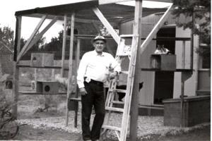 John Fripp at Wild Cat Village