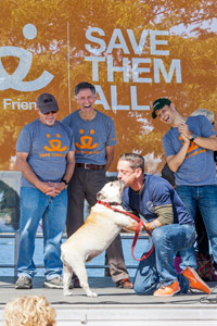 Festivities at Best Friends' Strut Your Mutt in New York City