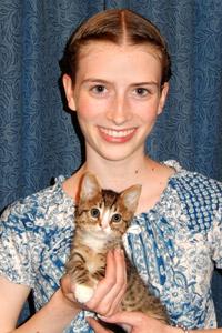 Tigger the kitten is one of the Salt Lake City kitten nursery successes